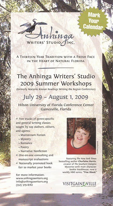 Anhinga Writers Studio